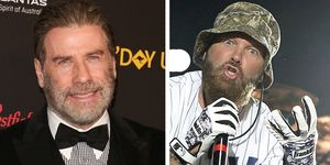 John Travolta and Fred Durst - Limp Bizkit