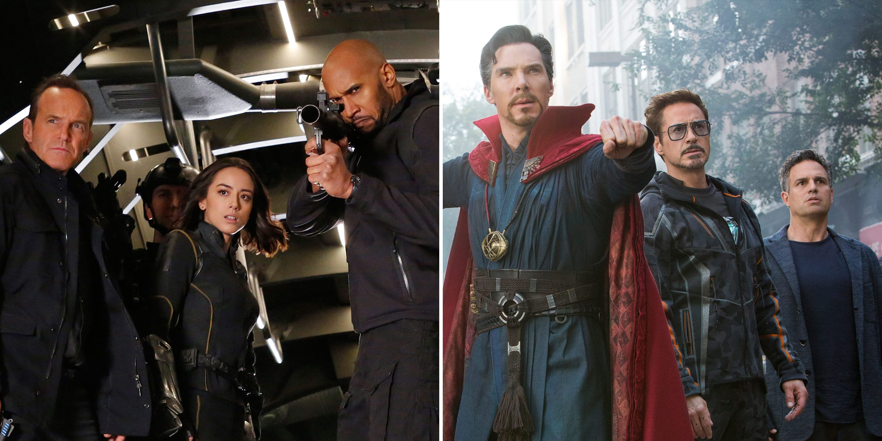 Avengers: Infinity War, Agents of SHIELD, Crossover