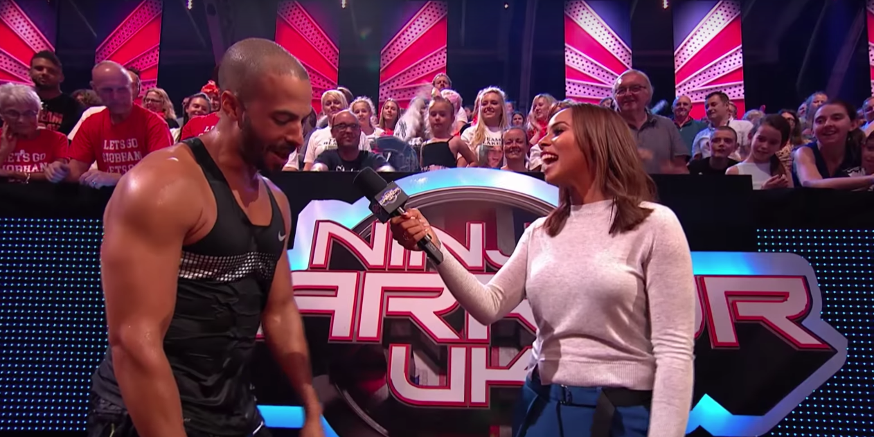 Rochelle and Marvin Humes on Ninja Warrior UK