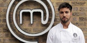 Matt Campbell on Masterchef: The Professionals in 2017