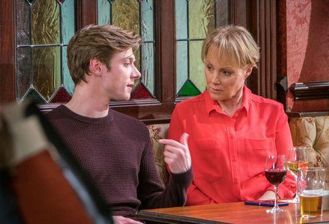 Daniel Osbourne asks Sally Metcalfe for her help in Coronation Street