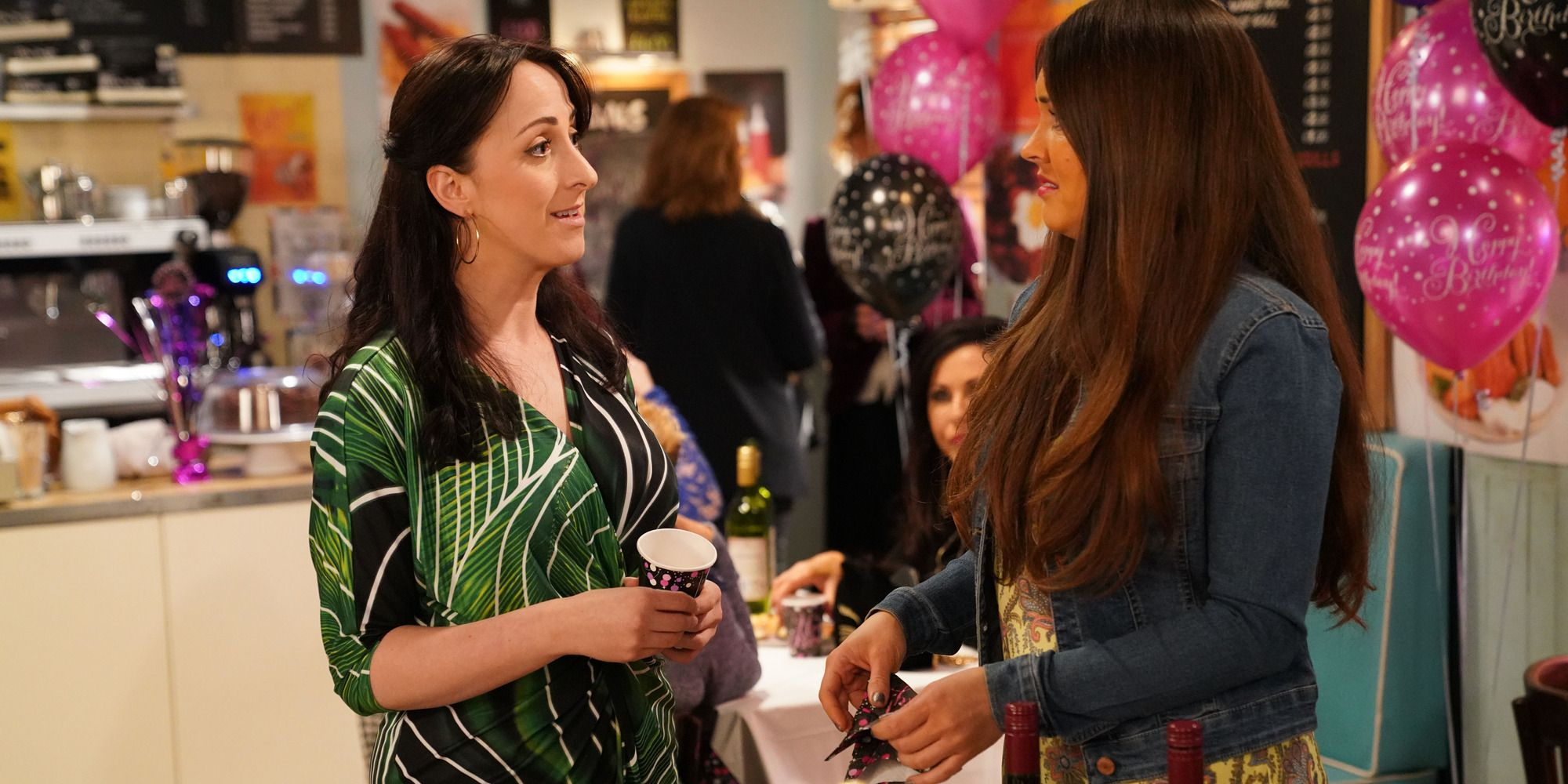 Sonia Fowler feels unsettled by Stacey in EastEnders