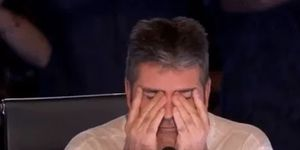 Simon Cowell - gutted / devastated