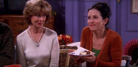 friends   'the one where ross got high' meat trifle   monica gellar   courtney cox