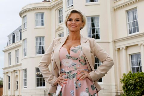 Kerry Katona officially opens The Hygrove, a new and exclusive sanctuary where members can recover from drug and alcohol addictions in peace and luxury, on May 3, 2018 in Gloucester, England.