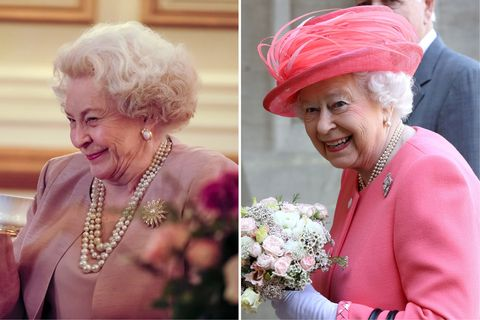 <p>Not the worst resemblance, but Fake Queen looks a little more like your gran on the sherry than your sovereign.</p>