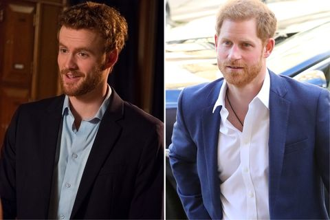 """<p>M88888… No reflection on Murray Fraser, but red hair and a beard do not Prince Harry make. We'd buy him in <em data-redactor-tag=\em\"""" data-verified=\""""redactor\"""">The&nbsp;Andrew Garfield Story</em>"""