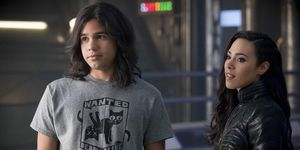 Cisco and Gypsy on The Flash