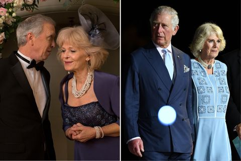 <p>It's all in the hair. And the fascinator. Beyond that, these are simply two middle-aged actors.</p>