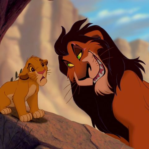 The Lion King S Scar How He Got His Scar