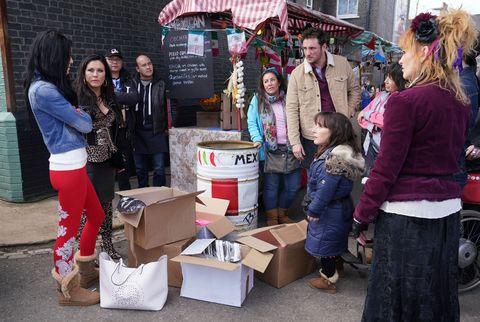 Hayley Slater sells her belongings in EastEnders