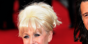 Barbara Windsor arrives at the Olivier Awards at The Royal Opera House on April 15, 2012