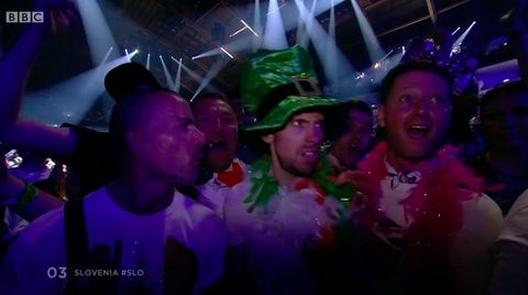 Confused Irish man wins Eurovision 2018 for viewers in a