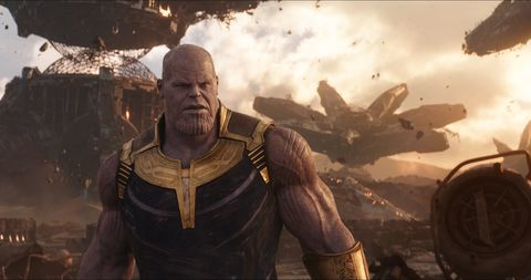 Destruction and devastation among Josh Brolin's Marvel baddie from Avengers 3