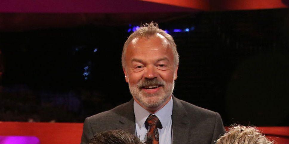 Graham Norton on The Graham Norton Show, May 2018