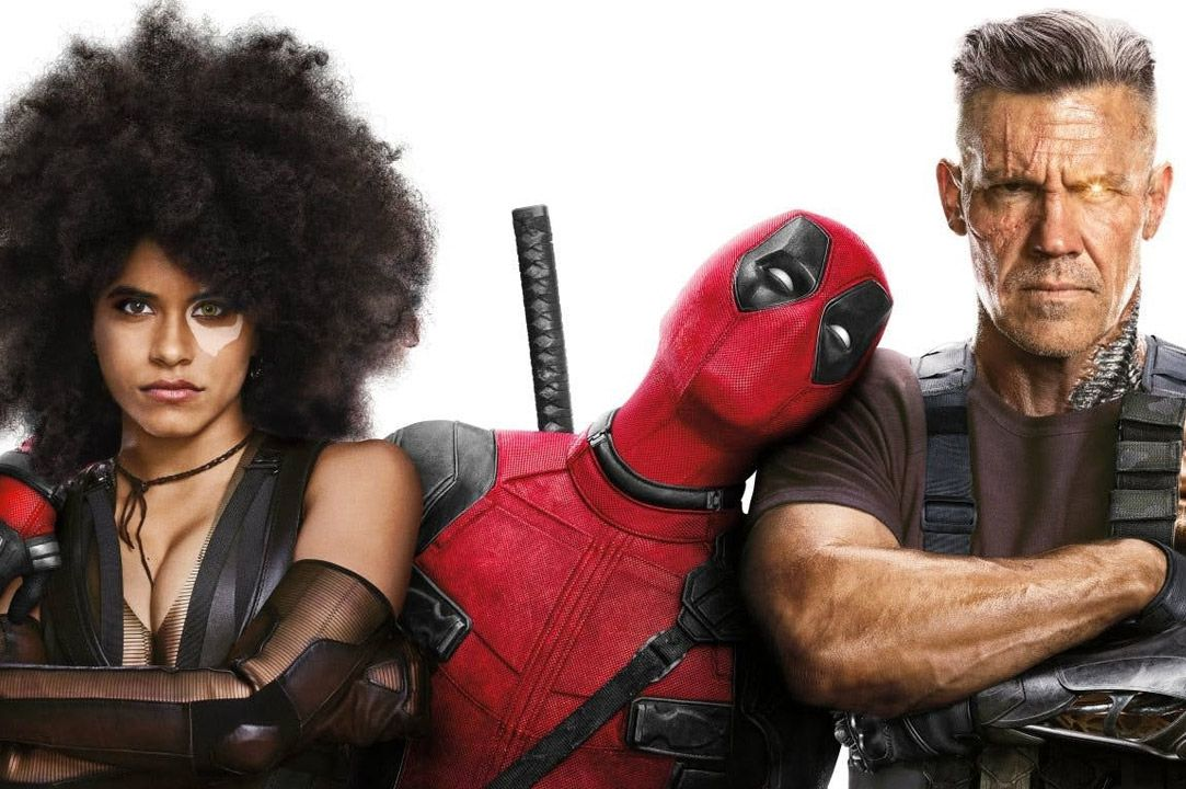 Deadpool 2 Domino and Cable