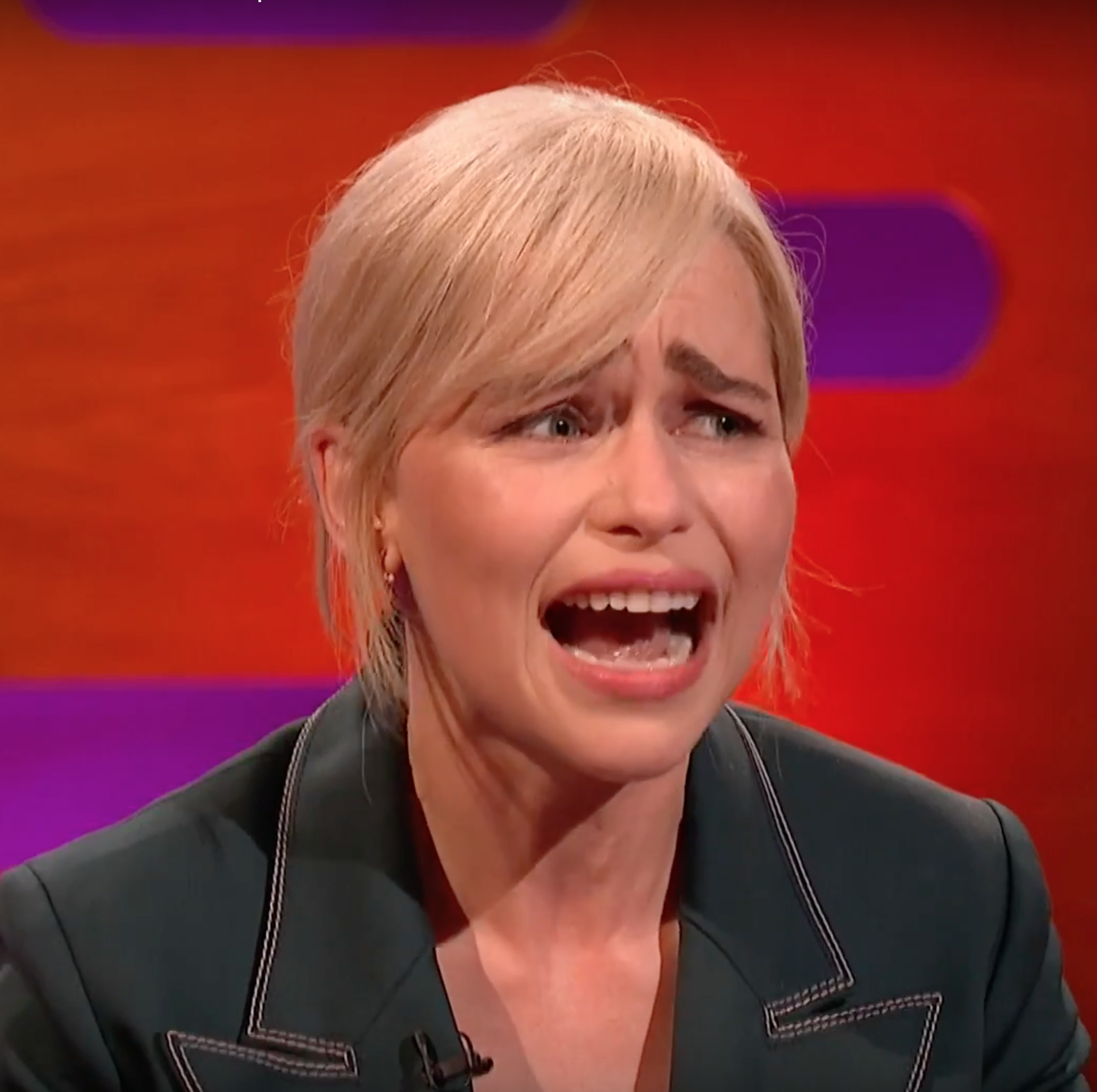 """Game of Thrones star Emilia Clarke admits she """"burst into tears"""" after filming final scene"""