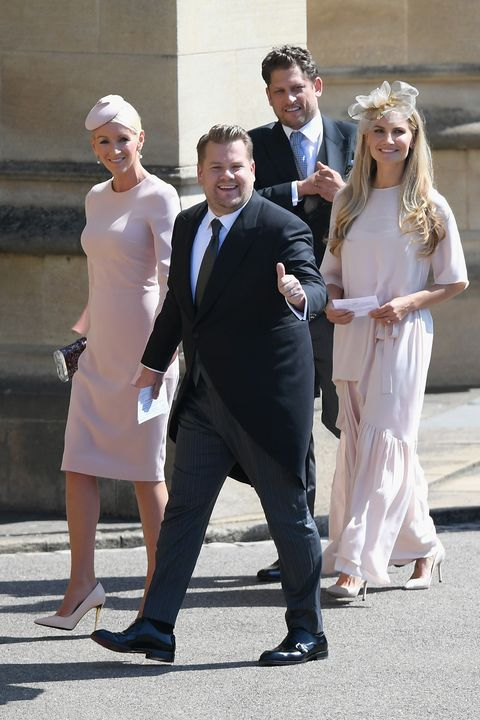 Cbs Royal Wedding Coverage.James Corden Almost Interrupted The Royal Wedding At The