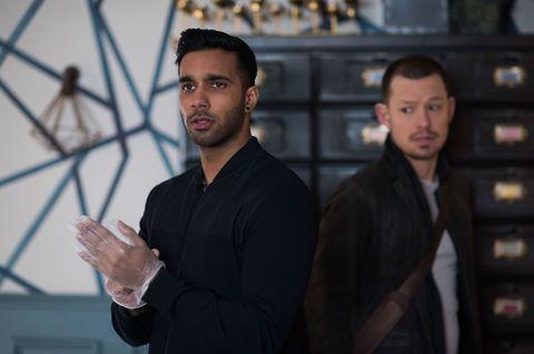 Kyle Kelly and Sami Maalik plot revenge in Hollyoaks