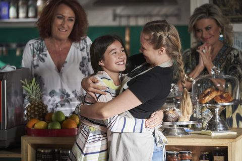Ava Gilbert and Raffy Morrison are reunited in Home and Away