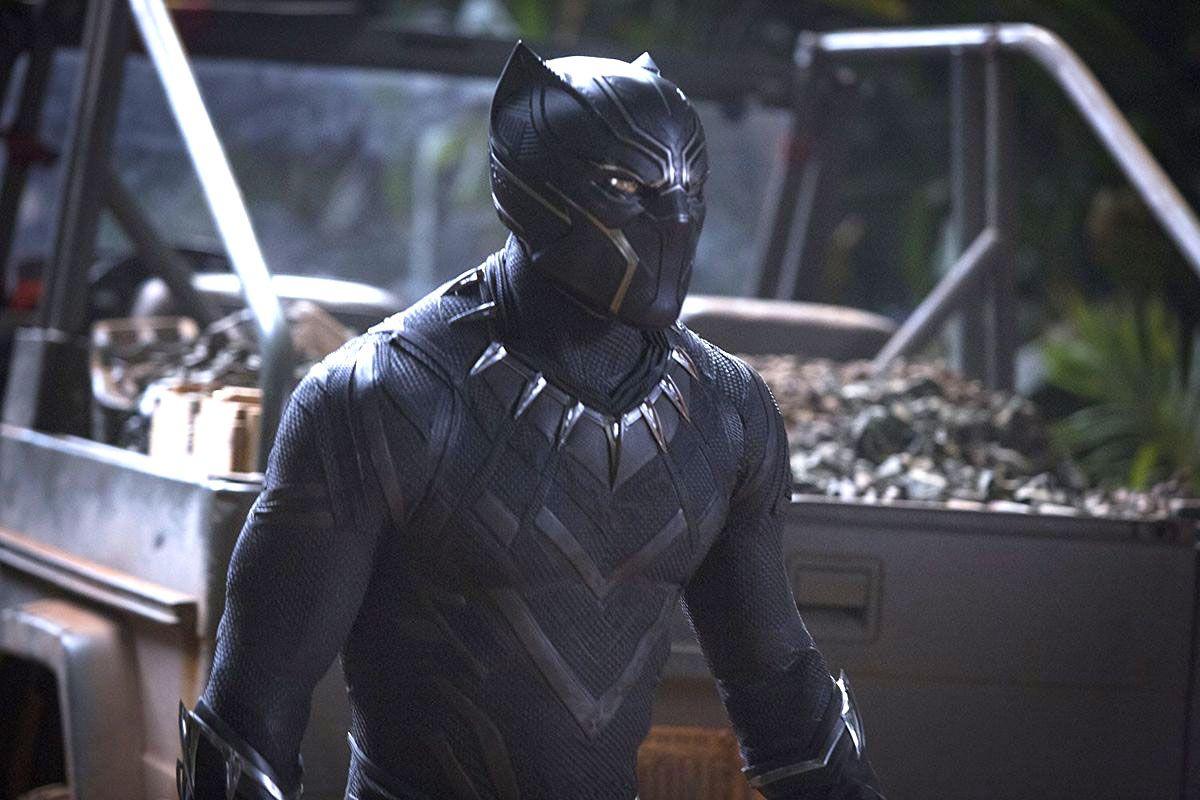 Chadwick Boseman as T'Challa, Black Panther