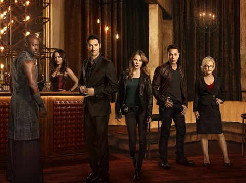 Lucifer cast confirm they're back at working filming