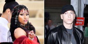 Nicki Minaj, Eminem, Dating