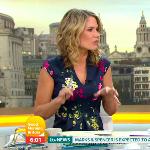 Charlotte Hawkins looks so different in 20 year throwback