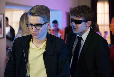 Tom Cunningham knows something is wrong with Alfie Nightingale in Hollyoaks