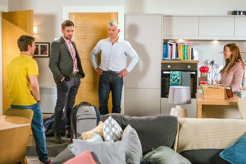 Embargo 7am Tuesday June 5 Ryan Connor has big news for Michelle in Coronation Street