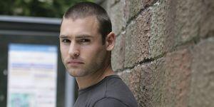 Stuart Manning as Russ Owen in Hollyoaks in 2006