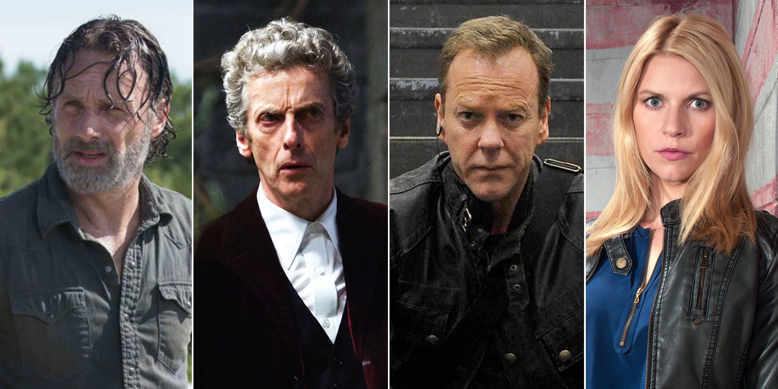 Andrew Lincoln, Peter Capaldi, Kiefer Sutherland, Claire Danes, TV Shows the same
