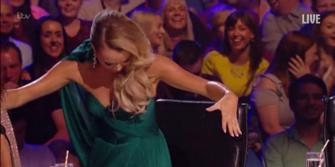 Britain's Got Talent semi-final 5/31/2018: Amanda Holden walks off