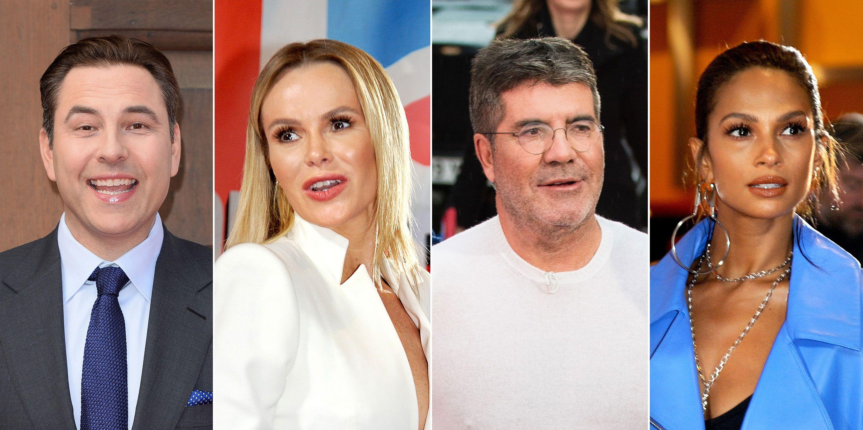 David Walliams, Amanda Holden, Alesha Dixon, Simon Cowell, Britains Got Talent