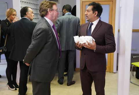 Ian Beale orders Masood Ahmed back to the chippy in EastEnders