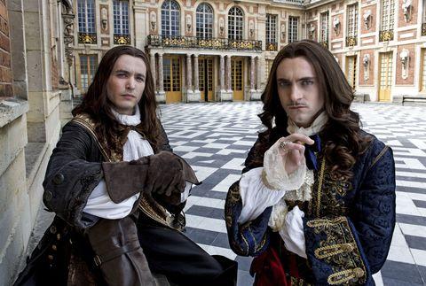 Alexander Vlahos says Versailles gets a