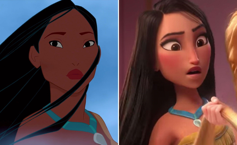 Disney Fans Debate Pocahontas And Mulan Whitewashing After Wreck