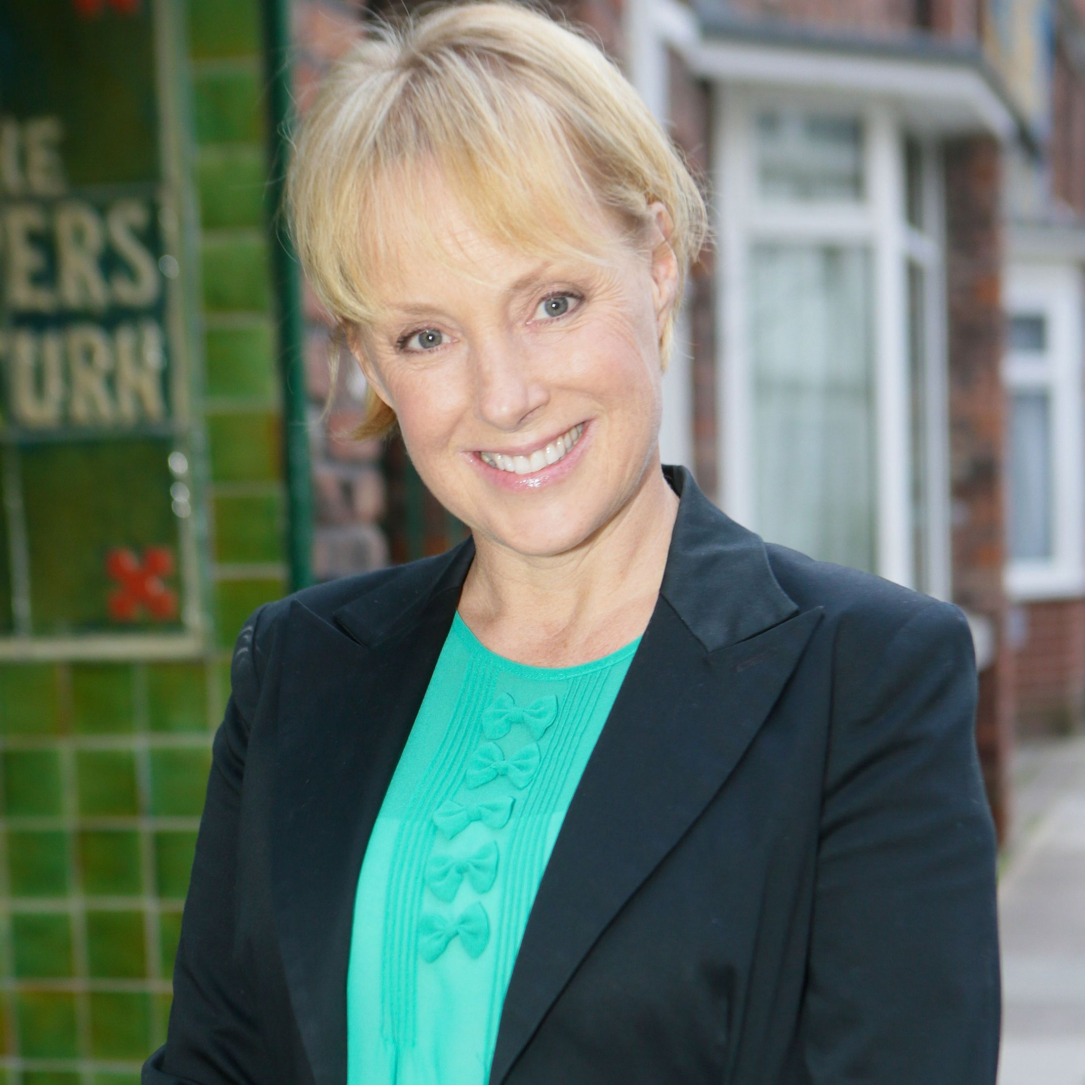 Coronation Street star Sally Dynevor responds to claims that the soap is in crisis
