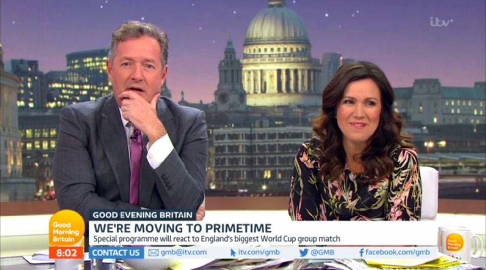 Good Morning Britain: Adil Ray flirts with Susanna Reid on
