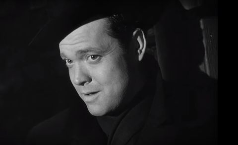 Orson Welles as Harry Lime (The Third Man, 1949)