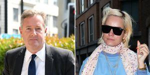 Piers Morgan, Lily Allen, Fued