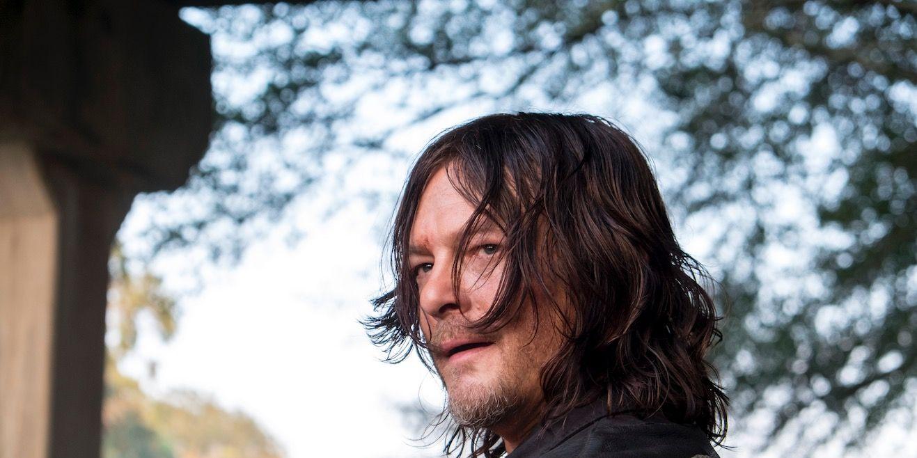 Daryl in The Walking Dead 8x11