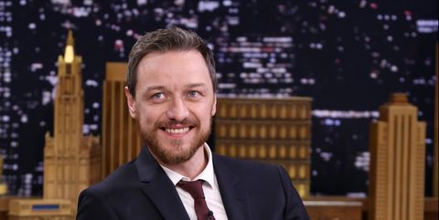 James McAvoy on The Tonight Show Starring Jimmy Fallon
