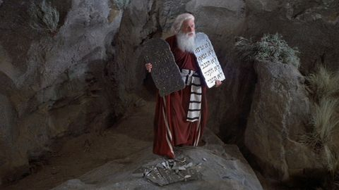 Mel Brooks as Moses in History of the World: Part I (1981)