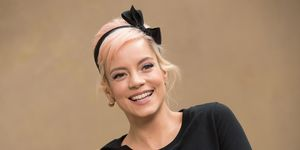 Lily Allen shares topless video as hair is plucked from her nipples in behind-the-scenes Brit Awards clip
