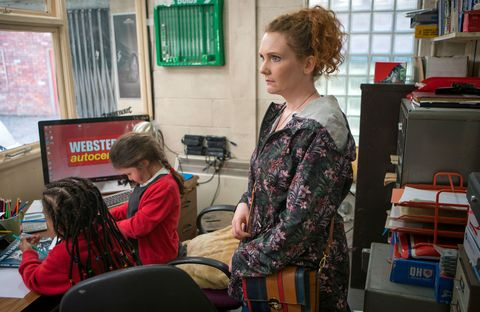 Fiz Stape is gutted to think that Tyrone has a date in Coronation Street