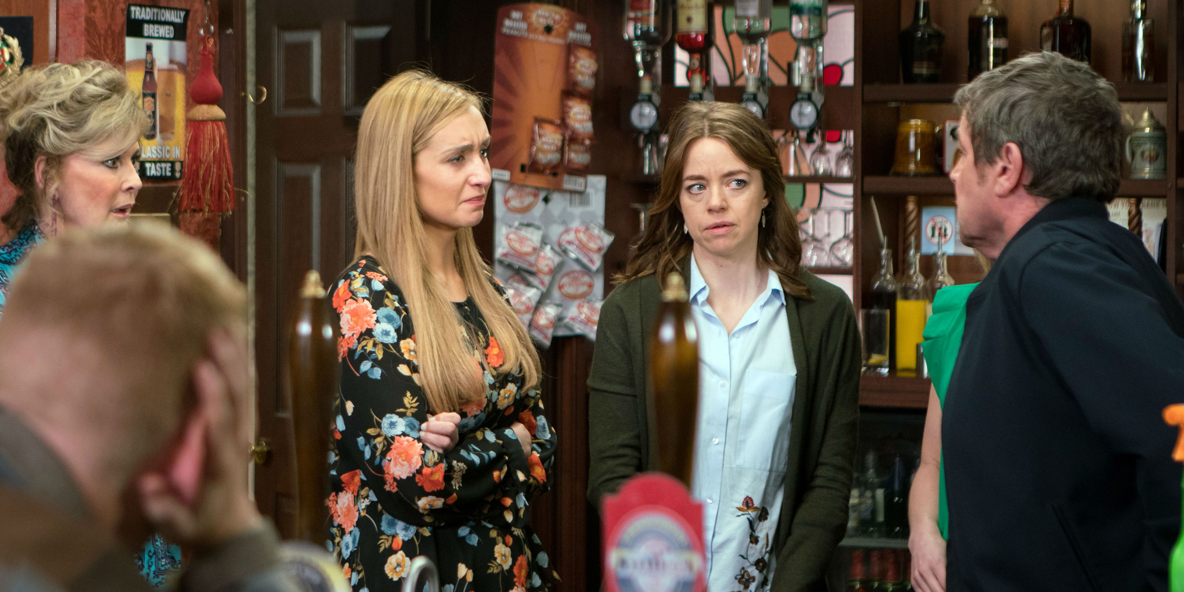 Johnny Connor wants answers from Eva Price in Coronation Street