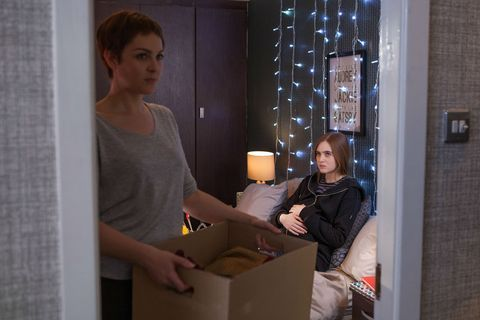 Nico Blake is still staying with Sienna in Hollyoaks