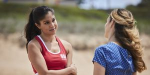 Willow Harris confides in Tori Morgan in Home and Away