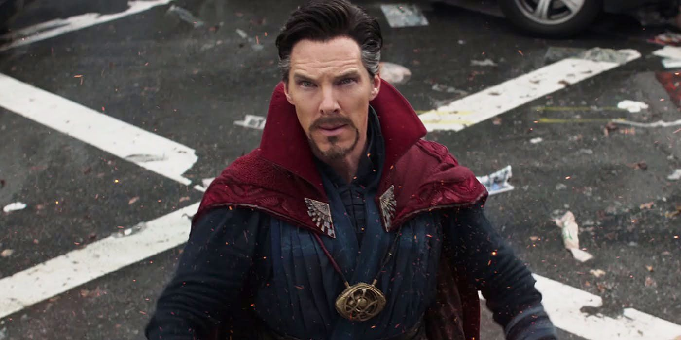 Benedict Cumberbatch as Doctor Strange in Avengers: Infinity War